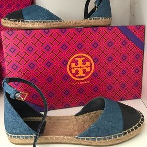 Tory espadrilles in new condition